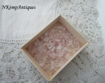 Vintage beads semi precious stones