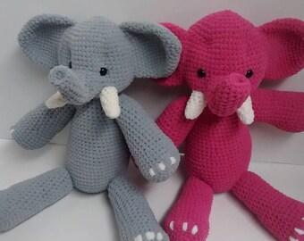 Soft Crochet Elephant