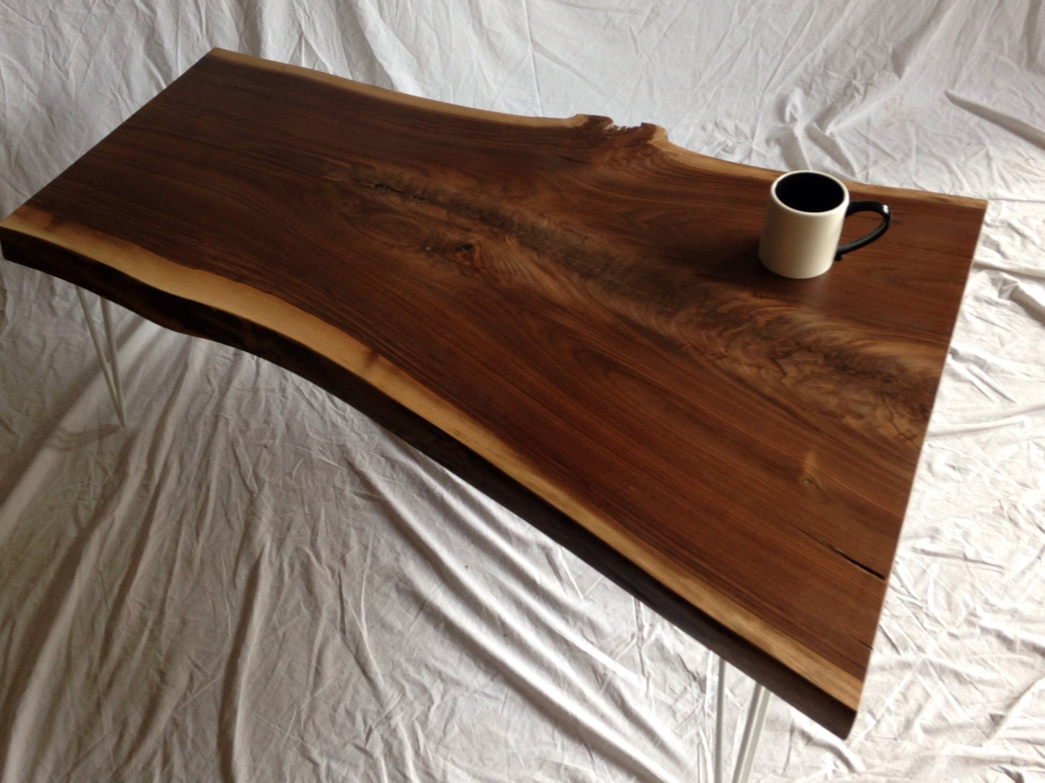 Live edge coffee table wood slab coffee table live edge Live wood coffee table