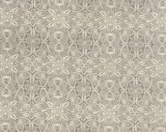 Black Tie Affair by Basic Grey for Moda Fabrics, Charcoal/Cream, 3042313