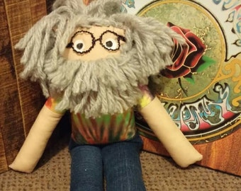 Jerry Garcia Plush Doll