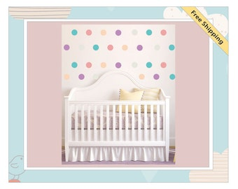 Polka Dots Children's Removable Wall Stickers