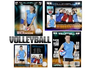 "Volleyball ""Premier"" Custom Templates"