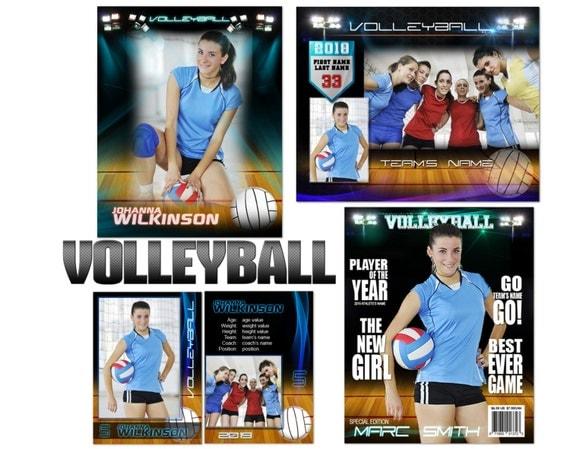 Volleyball Premier Custom Templates