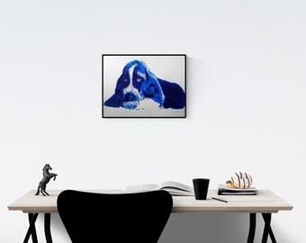 Blue basset