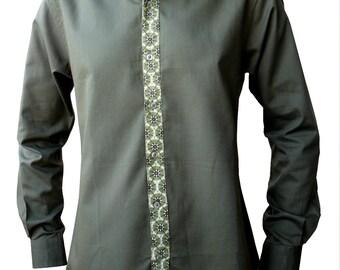 Original man shirt - Long Sleeves - Khaki
