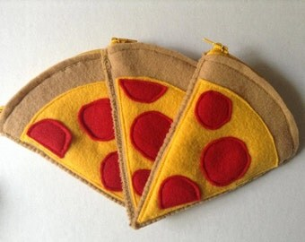 Pizza Slice Zipper Pouch!
