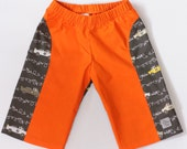 REDUCED Zoom! Monsieur Racing Orange  Chapsters Size 5  Board Shorts