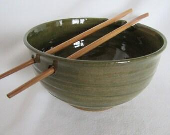 Rice and Noodle Bowl w/ Chopsticks