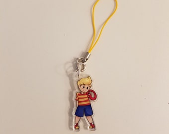 Ness and Lucas Charm Set