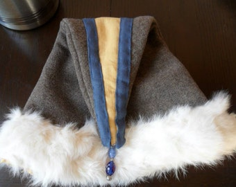 Viking Hat from pure Wool