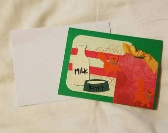 New Kitten Greeting Card