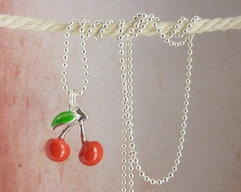 chain • sweet sixties • silver cherry