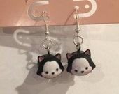 Tiny Size Tsum Tsum Figaro Earrings