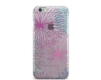 iPhone 6 case, iPhone case, iPhone 6s case, iPhone 6 case clear, iPhone 6s case clear, clear iphone 7 case, iphone 6 clear case - Floral