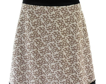 a : )  Knee-Length, Skirt, Jersey