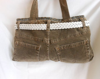 Purse/Tote Recycled Pants
