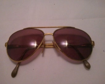 Vintage Collection - Aviator style Sunglasses Made in USA