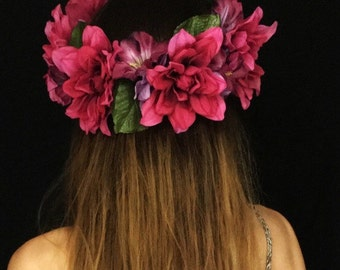Peruvian Lily Crown