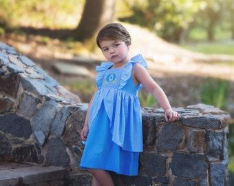 Cinderella Inspired Smocked Dress