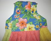 Hawaiian Hibiscus Tutti-Frutti Towel Set - Kitchen Towels - Towel Toppers