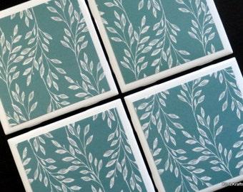 Turquoise Coasters, Coaster, Coasters, Tile Coasters, Tile Coaster, Drink Coasters, Table Coasters, Ceramic Coasters, Coaster Set of 4