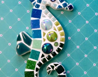 Fun Lily Mosaics D.I.Y. Mosaic Seahorse Kit for adults and children