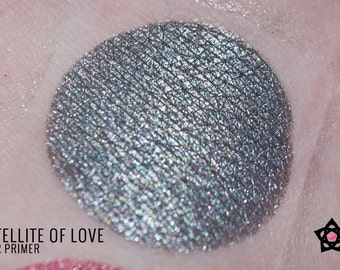 "Silver eyeshadow - ""SOL"" - Shimmer eyeshadow - Glitter eyeshadow - MST3K eyeshadow - Mineral eyeshadow - Vegan eyeshadow - loose eyeshadow"