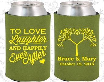Olive Wedding, Can Coolers, Olive Wedding Favors, Olive Wedding Gift, Olive Wedding Decorations (551)