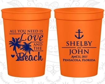 Orange Stadium Cups (C525) Orange Cups, Orange Plastic Cups, Orange Party Cups, Orange Wedding Cups