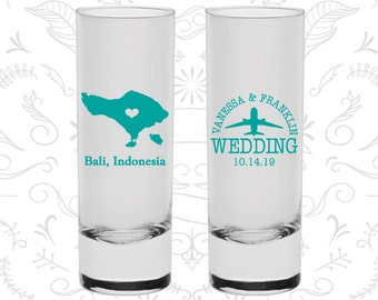 Indonesia Shooters, Indonesia Wedding, Wedding Favor Shooters, Destination Shooters, Tall Shot Glasses, Bali Shooters (159)