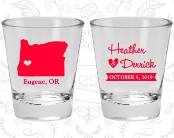 Oregon Shot Glass, Oregon Shot Glasses, Oregon Glass, Oregon Glasses, Oregon Glassware (136)