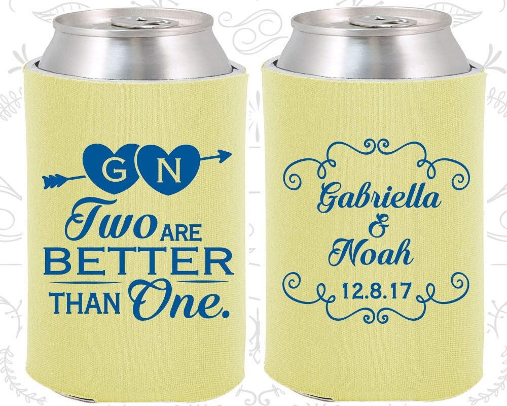 Personalised Wedding Gifts Vintage : Two are Better Than One Personalized Wedding Gift Vintage