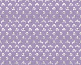 Riley Blake Designs - Haunting Skull Purple - C4675-PURPLE
