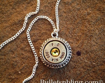 300 Bullet Casing Necklace