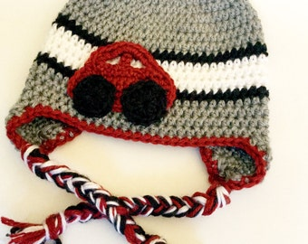 Car Earflap Hat (MADE TO ORDER)