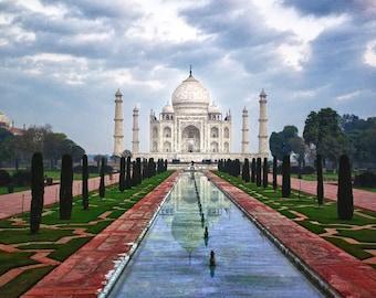 Taj Mahal - 8x10 print - Fine Art - Wall Art - Inquire about Size & Frame Options