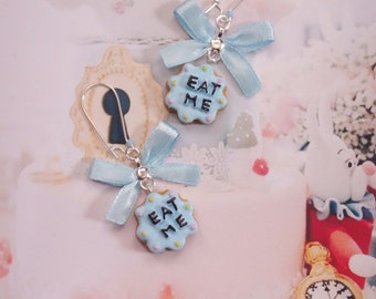 earrings eat me cookie