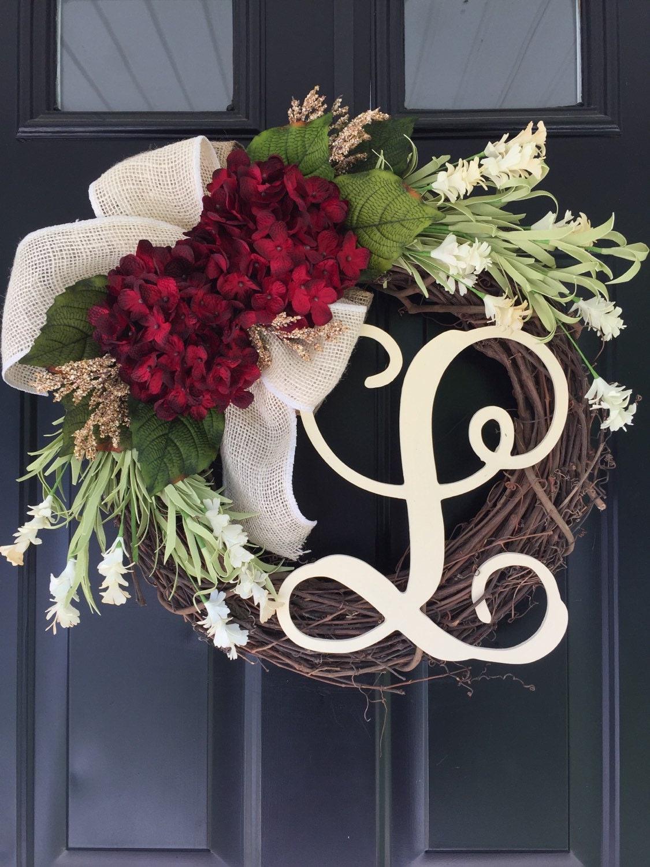 Everyday Wreath Summer Wreath Fall Wreath Wreath Red