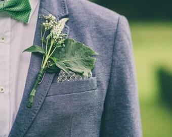 Mint green bow tie, mens bow tie, polka dot bow tie, mens green bow tie, wedding bow ties