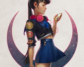Usagi 2.0 Limited Edition Fine Art Print