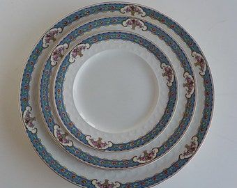 Johnson Bros Plates - JB 26 - Dinner Plates - Salad Plates