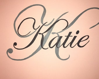 Handpainted Canvas KATIE