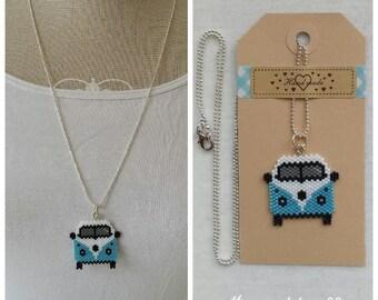 VW-Van necklace handmade and original choose your favorite colour