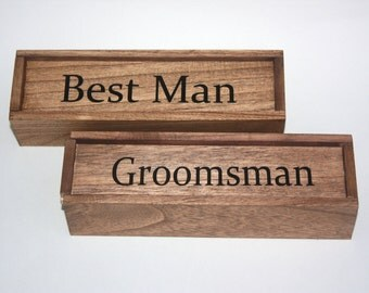 Groomsman Gift Box/ Cigar Box