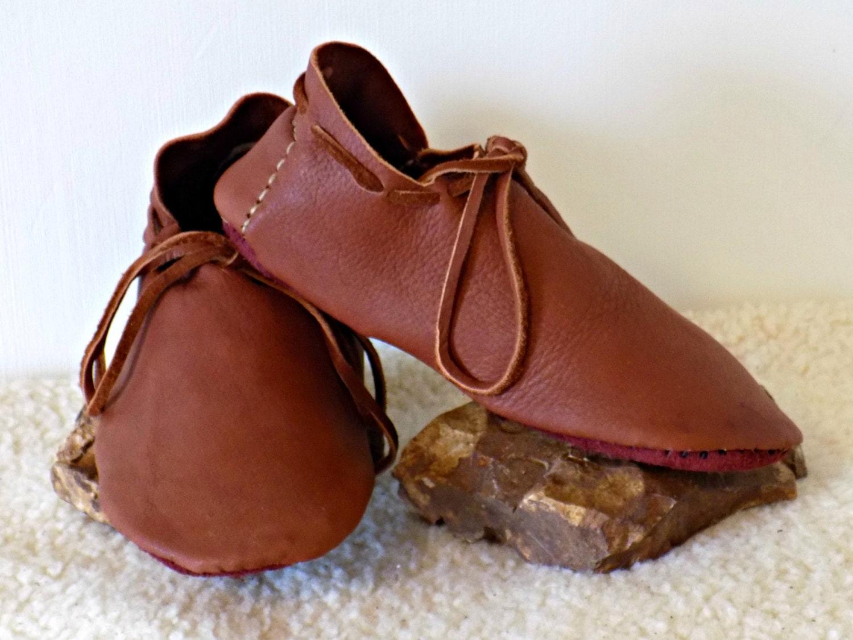 leather viking shoes handmade elk hide shoes custom