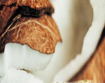 1 oz (30ml)    EXOTIC COCONUT Fragrance Oil - Creamy Exotic Sweet Coconut blended with Exotic Musk with a hint of Vanilla