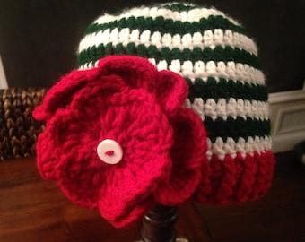 Christmas toddler hat