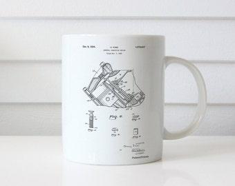 V-8 Combustion Engine 1934 Patent Mug, Henry Ford, Car Part Mug, Mechanic Gift, Car Enthusiast, PP0172