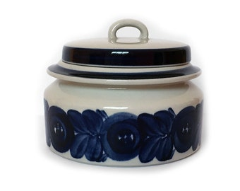 Arabia Anemone Tureen Blue and White Finland Vintage Tableware